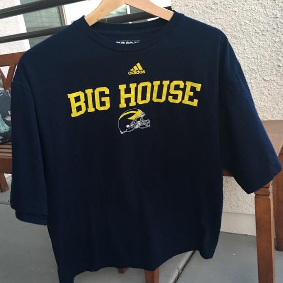 730c1a0e2dc03 Michigan Wolverines Adidas T-shirt Size XL